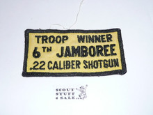 1964 National Jamboree Shotgun Troop Winner Patch, Used