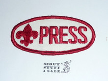 1964 National Jamboree PRESS Patch
