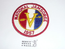 1957 National Jamboree Region 5 Patch