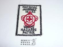 1953 National Jamboree Water Hazards Patrol Patch