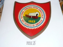 1953 National Jamboree Shield Shaped Placque