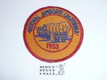1953 National Jamboree PROTOTYPE Patch