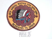Wiatava O.A. Lodge #13 1988 Pow Wow Patch