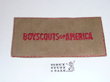 Boy Scout Program Patch from the 1953 Mr. Scoutmaster Movie