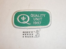 Quality Unit Patch, 1997
