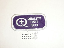 Quality Unit Patch, 1999