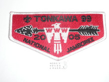 Order of the Arrow Lodge #99 Tonkawa s38 2005 NJ Flap Patch