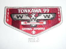Order of the Arrow Lodge #99 Tonkawa 2010 NJ Flap Patch