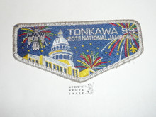 Order of the Arrow Lodge #99 Tonkawa 2013 svr mylar bdr NJ Flap Patch