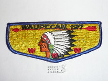 Order of the Arrow Lodge #197 Waupecan s3 Flap Patch