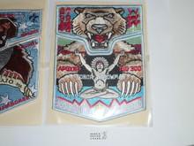 Order of the Arrow Lodge #300 Apoxky Aio 2010 HONOR ARROWMAN 2 pc Set