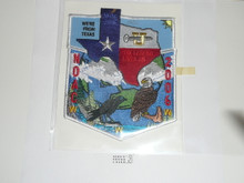 Order of the Arrow Lodge 2006 Texas NOAC 2 piece Flap Patch Set
