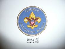 Council Executive Board Patch (CEB1), 1973-?, lite use