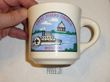 Great Rivers Council Mug with plain rim