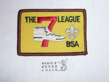 The 7 League High Adventure Team (HAT) Award Patch