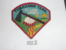 Tomahawk Trail Patchm St. Louis Council