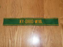 1950 National Jamboree Region Four (4) Band Felt Armband - Boy Scout - VERY RARE, Lite Use