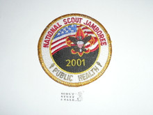 2001 National Jamboree Public Health STAFF Patch