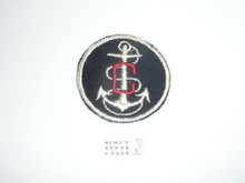 Sea Scout FELT Ship Patch