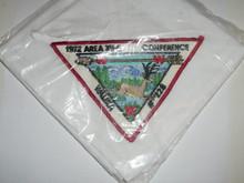 1972 Order of the Arrow Area 12E Conclave Neckerchief
