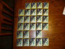 Set of Boy Scout Nights of Camping Patches 20-600, 27 in all