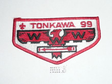 Order of the Arrow Lodge #99 Tonkawa s9 Flap Patch
