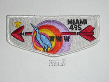 Order of the Arrow Lodge #495 Miami s3 Flap Patch