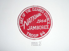 1964 National Jamboree JSP - Lake of the Ozarks Council