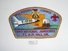 1989 National Jamboree JSP - Will Rogers Council