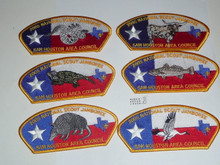 2005 National Jamboree JSP - Sam Houston Council, set of 10