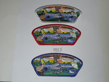 2005 National Jamboree JSP - Southeast Louisiana Council, set of 3