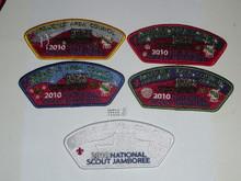 2010 National Jamboree JSP - Arbuckle Area Council, 5 piece set