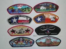2010 National Jamboree JSP - Circle Ten Council, 14 piece set