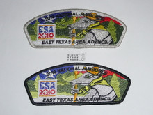 2010 National Jamboree JSP - East Texas Area Council, set of 2