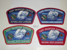 2010 National Jamboree JSP - Last Frontier Council, set of 4
