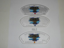 2010 National Jamboree JSP - Norwela Council, set of 3