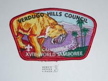 18th World Jamboree JSP - Verdugo Hills Council
