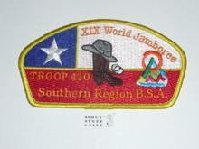 21st World Jamboree JSP - Southern Region Troop