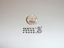 Copy of 1960 National Jamboree Pin on the original issue card (card not shown)