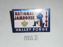 1964 National Jamboree Enameled Neckerchief Slide