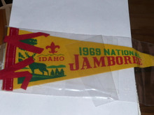 1969 National Jamboree Felt Pennant