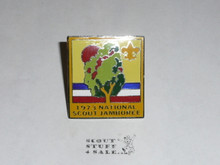 1973 National Jamboree Enameled Neckerchief Slide