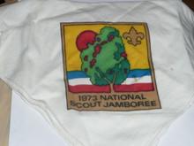 1973 National Jamboree Scarf / Kerchief, lite use
