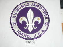 1967 Boy Scout World Jamboree Jacket Patch, lite use