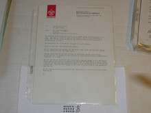 1980's Letter on Boy Scout National Headquarters Stationary from NESA