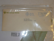 1971 Boy Scout Headquarters Envelope