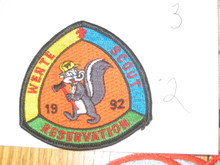 Wente Scout Reservation Patch, 1992
