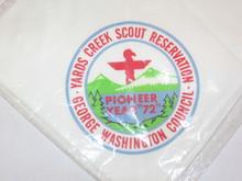 Yards Creek Scout Reservation Neckerchief, George Washington Council, 1972