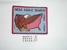 National Eagle Scout Association, 1985-1986 Eagle Search Patch