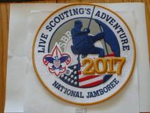 "2017 National Jamboree Large 8"" Jacket Patch"